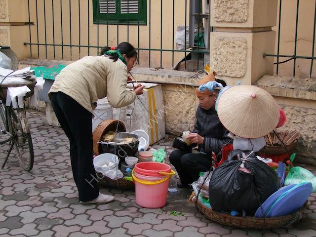Having a Taste! Street Restaurant, Hanoi