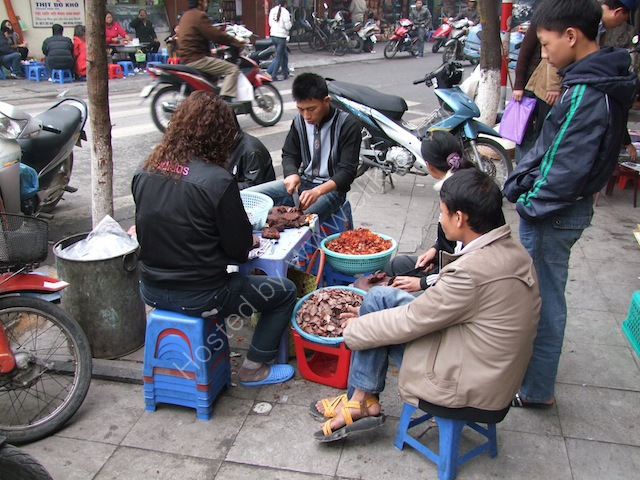 Preparation of Street Food! Hanoi