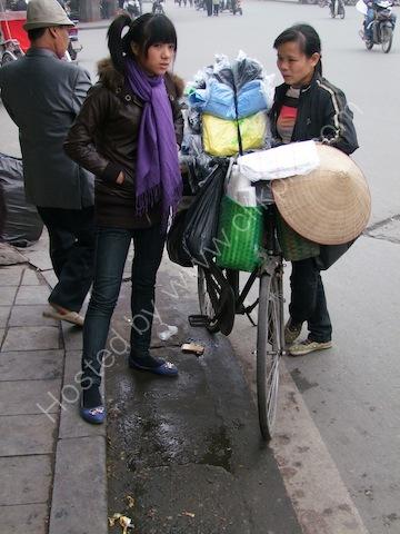 Clothes Seller, Hanoi