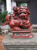 Ceramic Lion, Temple of Literature, Hanoi