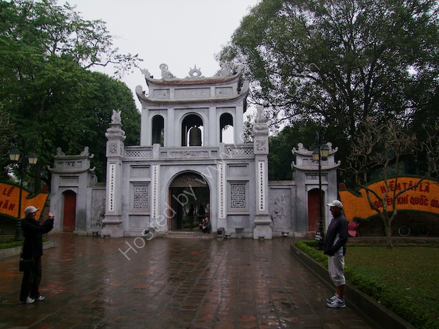 Entrance to Temple of Literature, Hanoi