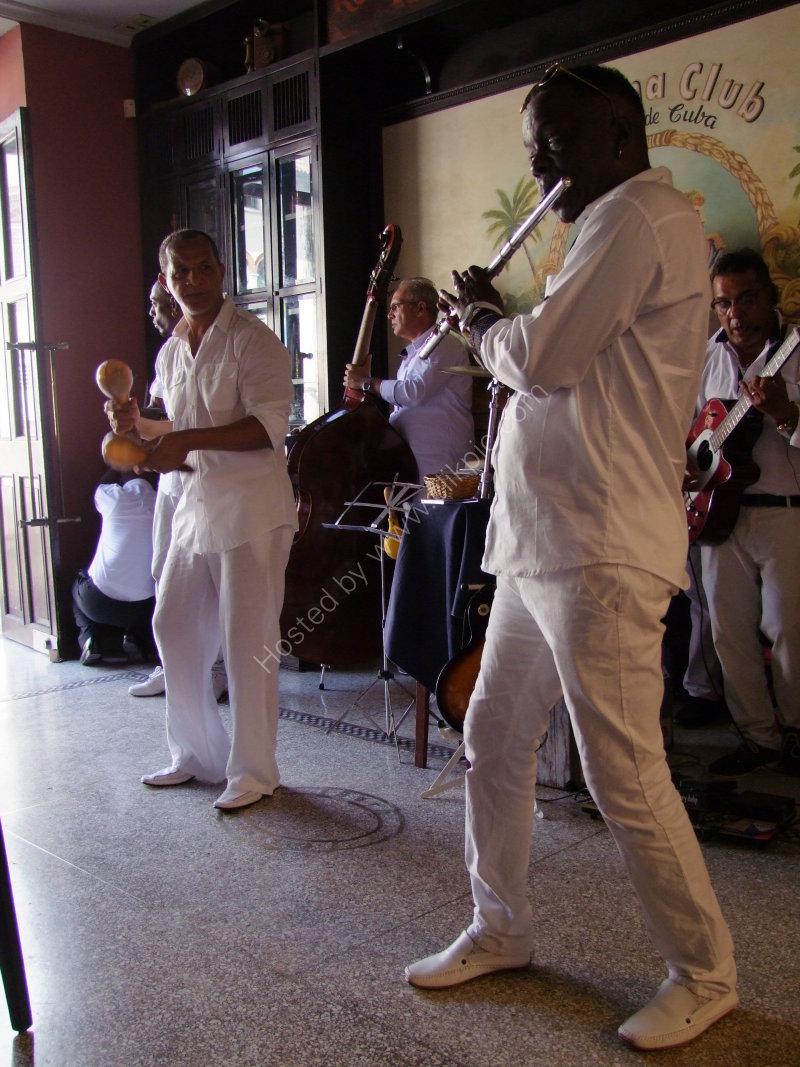 Musicians, Havana Club Bar