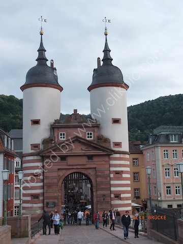 Gateway to Old Bridge, Heidelberg