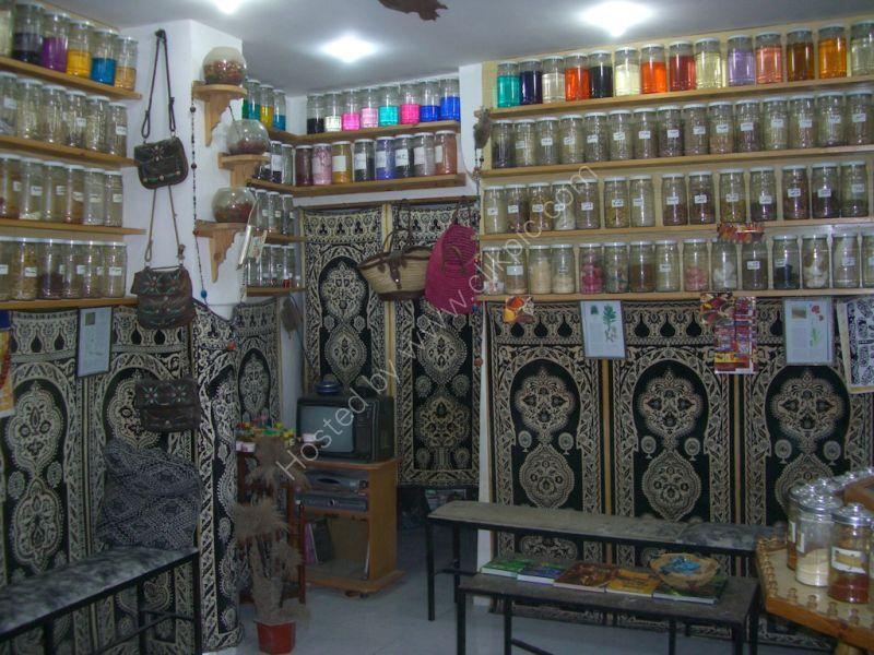 Herbalists Shop in Medina