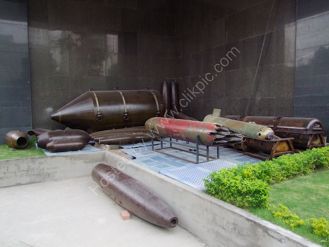 Spent Shells, Bao Tang Chung Tich Chien Tranh (War Remnants Museum), Ho Chi Minh City