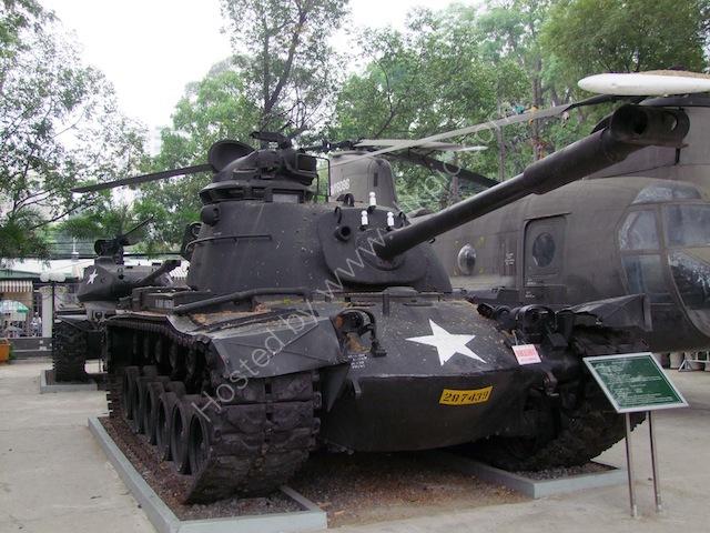 US Tank, Bao Tang Chung Tich Chien Tranh (War Remnants Museum), Ho Chi Minh City