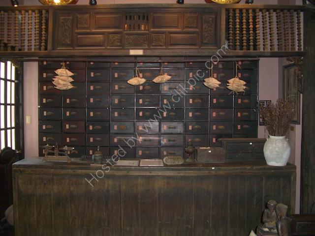 Traditional Medicine Shop, Bao Tang PHITO (Museum of Vietnamese Traditional Medicine), Ho Chi Minh City