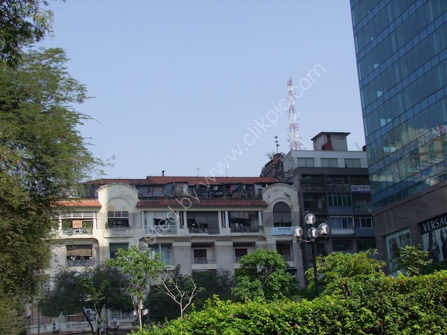 Building from which US Helicopter Evacuation took place, Ho Chi Minh City