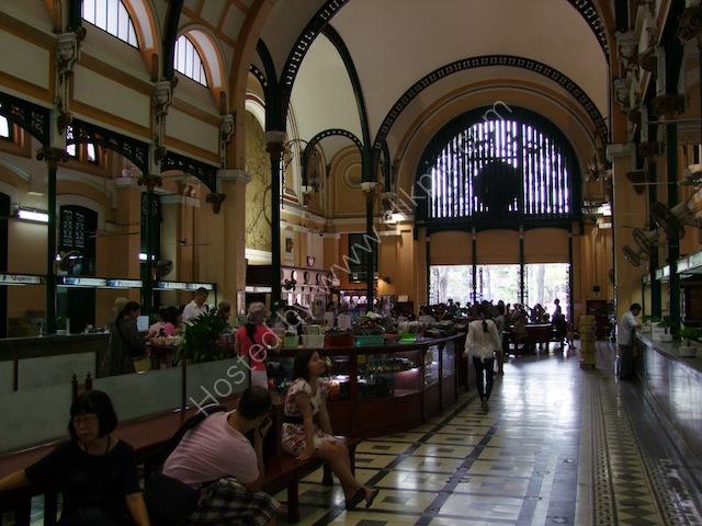 Counter Hall, Buu Dien Saigon (Saigon General Post Office), Ho Chi Minh City