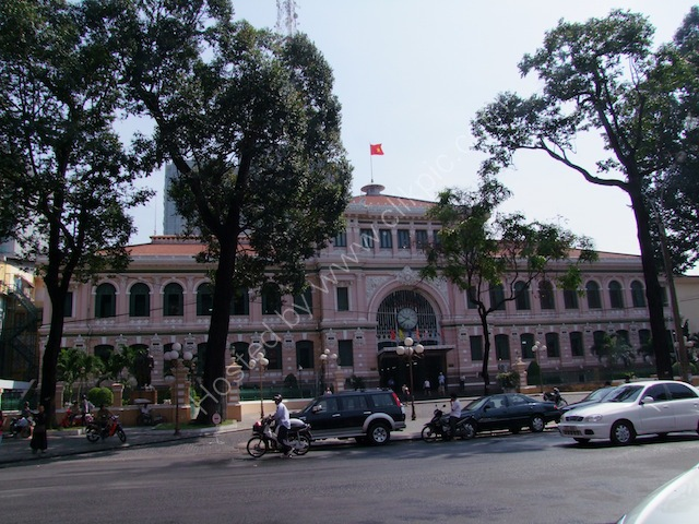 Buu Dien Saigon (Saigon General Post Office), Ho Chi Minh City