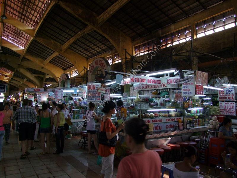 Food Stalls, Cho Ben Thanh Market, Ho Chi Minh City