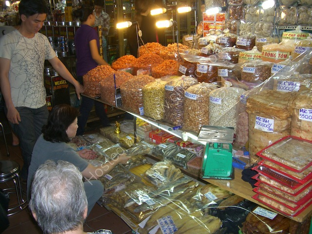 Dried Foods Stall, Cho Ben Thanh Market, Ho Chi Minh City