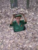 Hide, Cu Chi Tunnels, outside Ho Chi Minh City