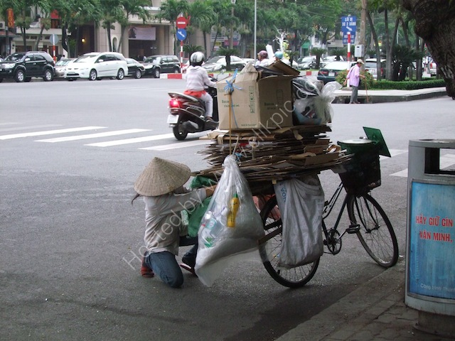 Recycling, Ho Chi Minh City