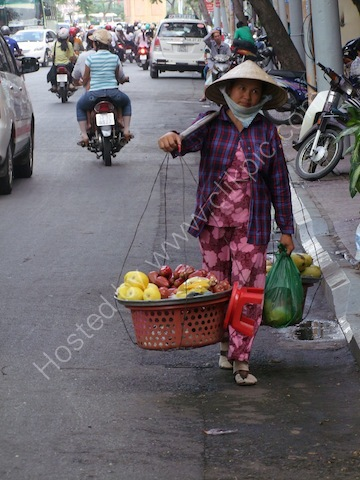 Street Fruit Vendor, Ho Chi Minh City