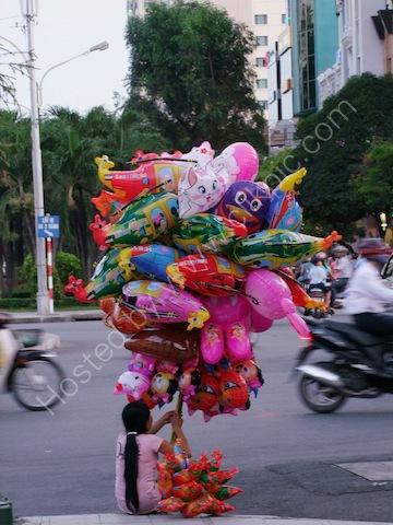 Balloon Vendor, Ho Chi Minh City