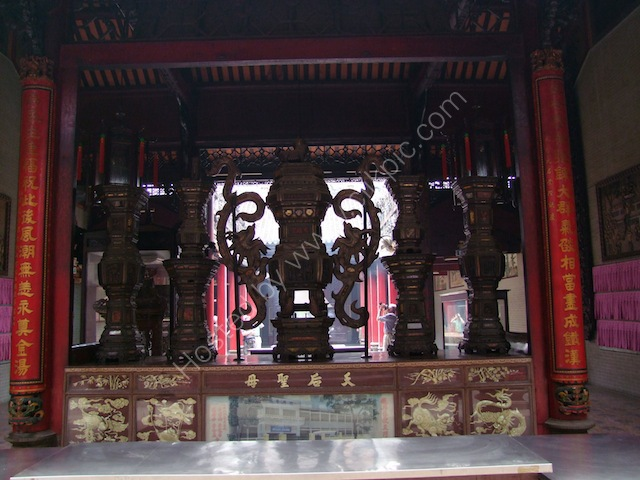 Old Wood Altar Pieces, Thien Hau Chinese Temple, Ho Chi Minh City