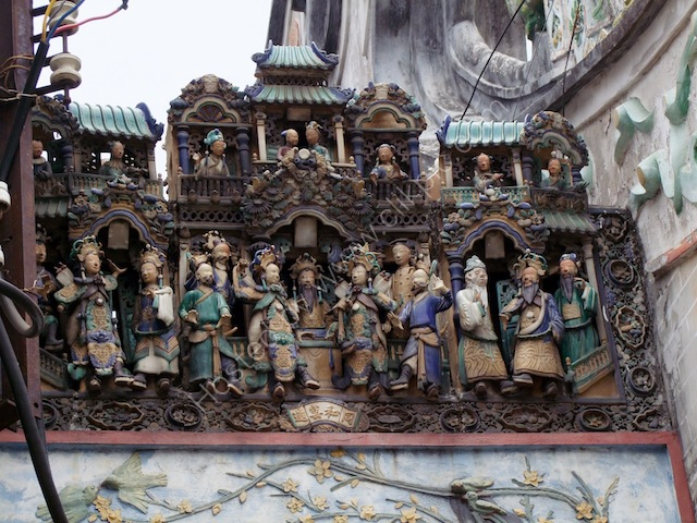 Detail, Thien Hau Chinese Temple, Ho Chi Minh City