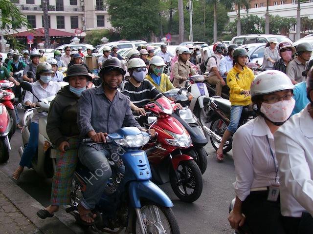 Rush Hour Traffic! Ho Chi Minh City