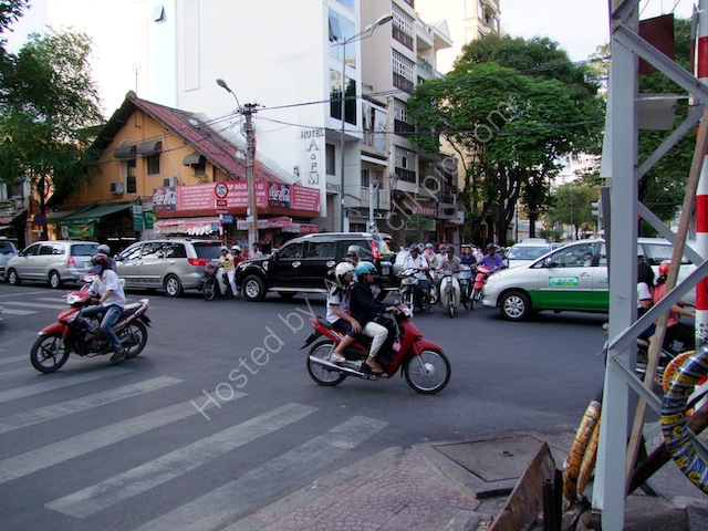 Motorcycle Traffic, Ho Chi Minh City