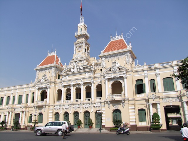 UBND Thanh Pho (People's Committee Building), Ho Chi Minh City