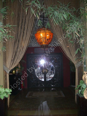 Vietnamese Restaurant Entrance, Ho Chi Minh City