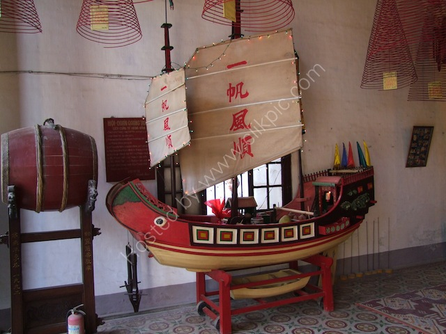 Model Boat, Chinese Assembly Hall, Hoi An