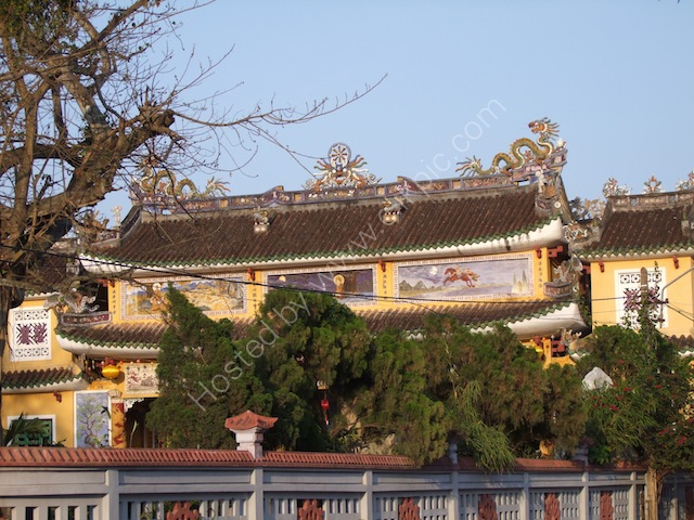 Roof Detail, Chinese Assembly Hall, Hoi An
