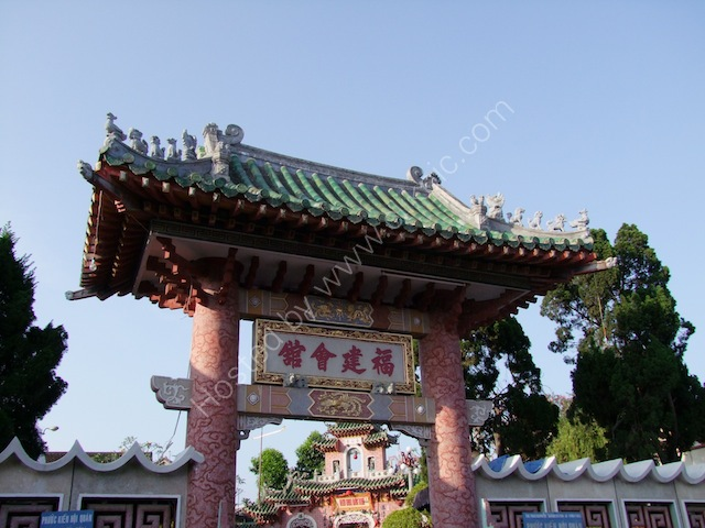 Detail, Fujian Chinese Assembly Hall, Hoi An
