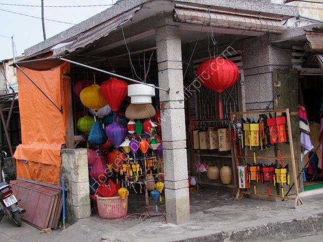 Vietnamese Lamp Shop, Hoi An