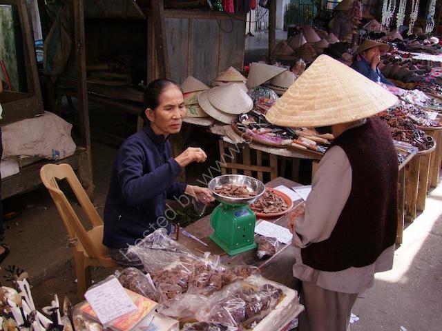 Dried Fruit Seller, Hoi An Market