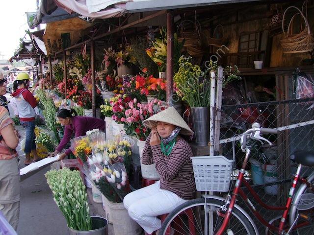 Flower Seller, Hoi An Market