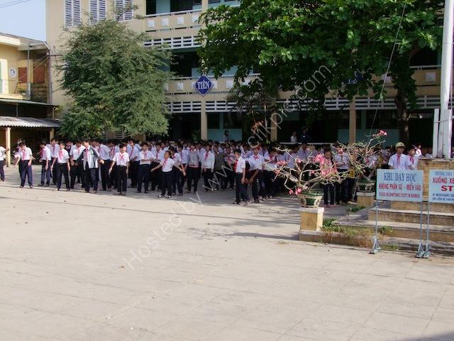 School Children's Exercise Class, Hoi An