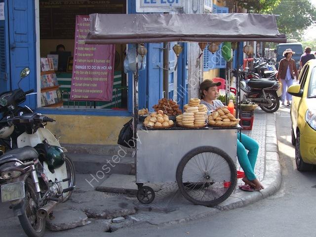 Bread Street Vendor, Hoi An