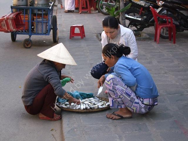 Fish Street Vendor, Hoi An