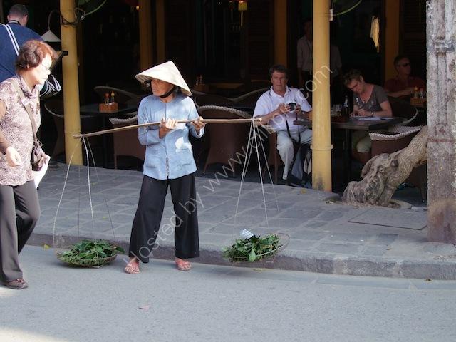 Herb Street Vendor, Hoi An