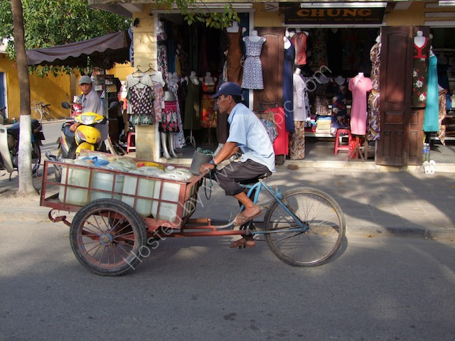 Three Wheel Bicycle Transport, Hoi An