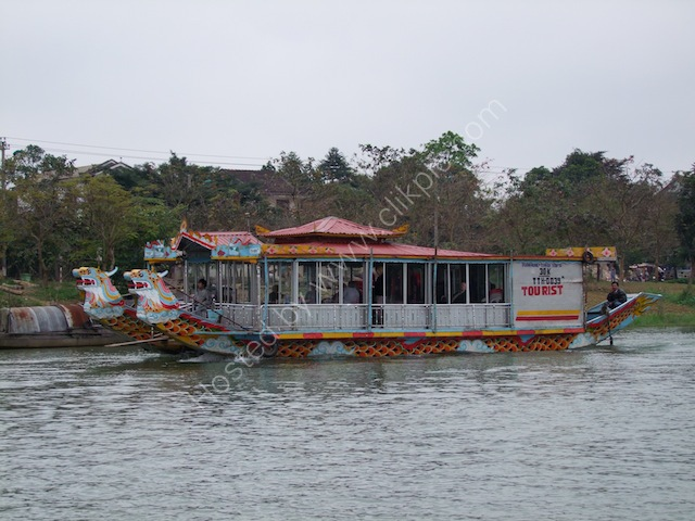 Large Dragon Boat, Perfume River, Hue