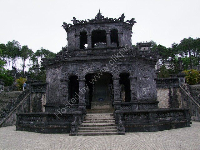 Another Building at Khai Dinh Tomb, Hue