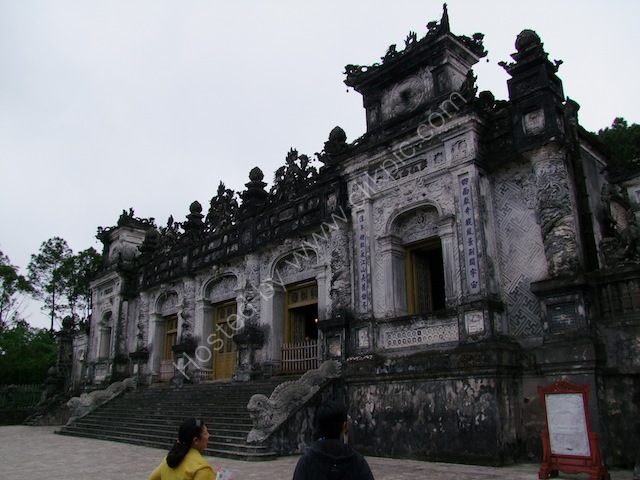 Main Building of Khai Dinh Tomb Complex, Hue