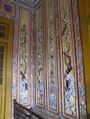 Wall Panels Representing The Four Seasons, Khai Dinh Tomb, Hue