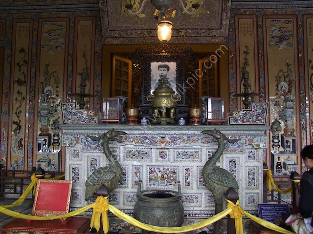 Altar, Khai Dinh Tomb, Hue