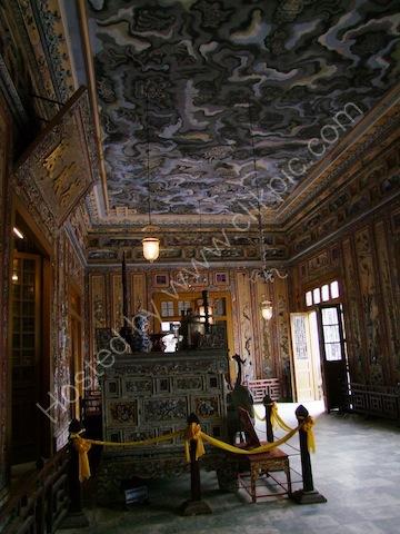 Main Room of Khai Dinh Tomb, Hue