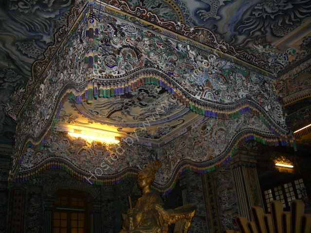 Canopy, Khai Dinh Tomb, Hue