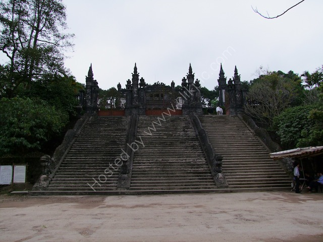Main Entrance, Khai Dinh Tomb, Hue