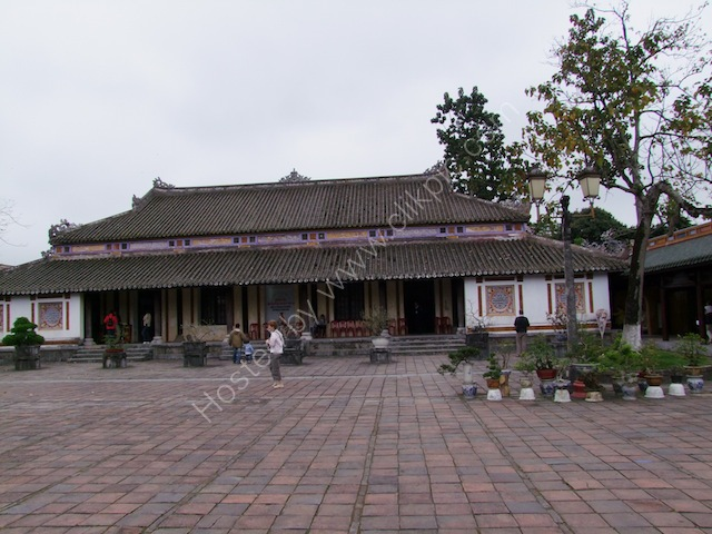 One of the Imperial City Buildings, Kinh Thanh (Citadel), Hue