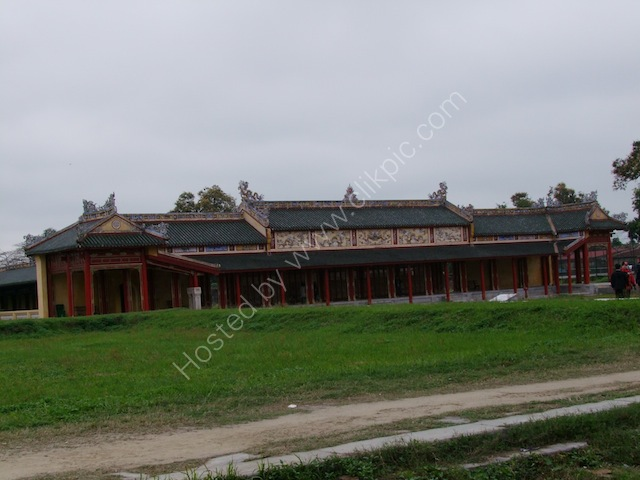 Restored Building, Kinh Thanh (Citadel), Hue