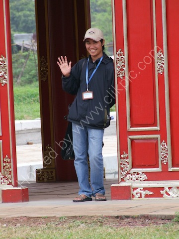 "Tour Guide ""Dat"", Kinh Thanh (Citadel), Hue"
