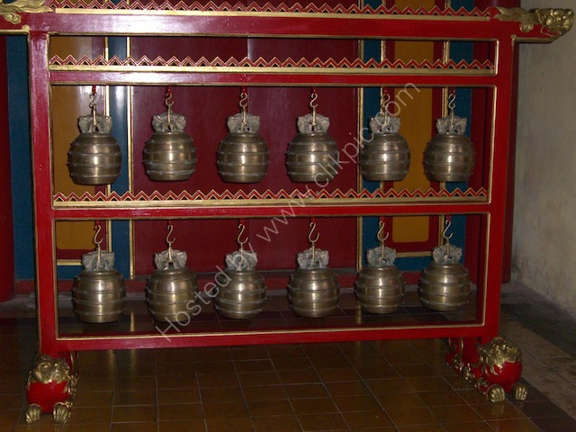 Bells, Hiem Lam Cac (Pavilion of Splendour), Kinh Thanh (Citadel), Hue