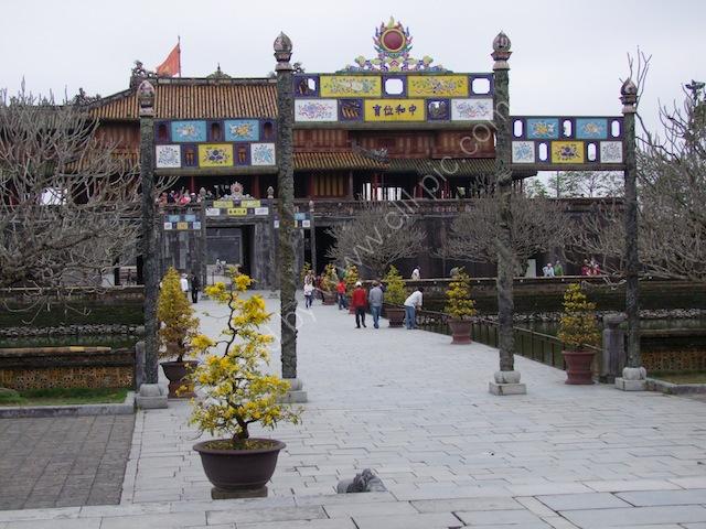 Walkway, Kinh Thanh (Citadel), Hue